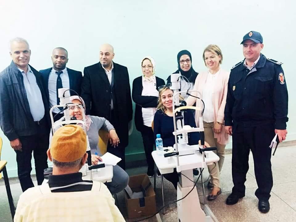 بالصور.. تنظيم قافلة طبية وتضامنية لفائدة نزلاء سجن سيدي موسى بالجديدة