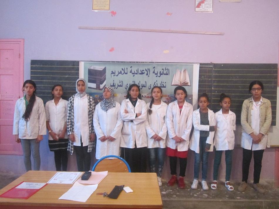 نادي القرأن بإعدادية للامريم يفتتح أنشطته السنوية بمساهمة المجلس العلمي المحلي