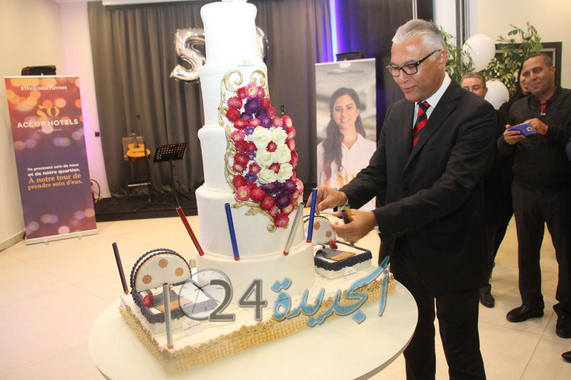 بالصور .. فندق ''بولمان الكولف الملكي'' يحتفل بالذكرى 50 لميلاد مجموعة ''أكور''