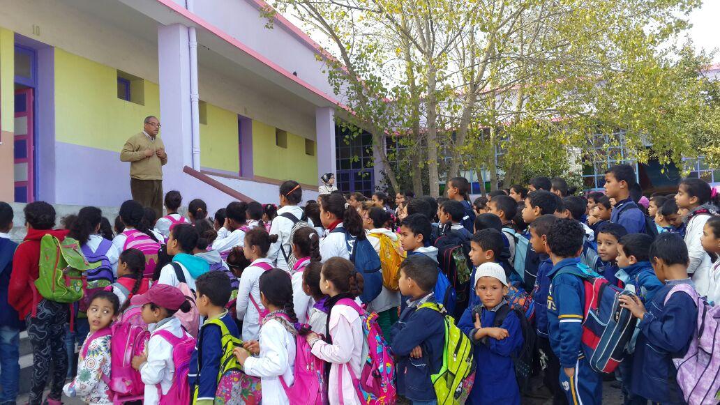 ''قيم المواطنة''.. محور الأيام التعاونية الرابعة لمدرسة ابن حمديس بآزمور