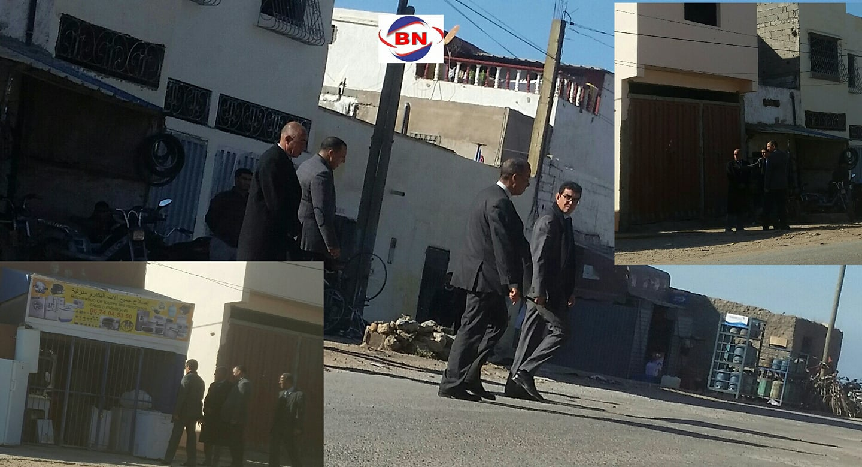 عامل اقليم الجديدة محمد الكروج في زيارة مفاجئة لمدينة البئر الجديد