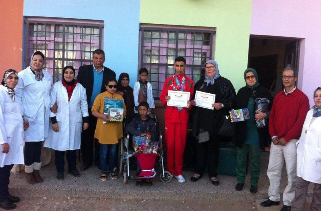 مجموعة مدارس أولاد احسين تحتفل باليوم العالمي للشخص المعاق 