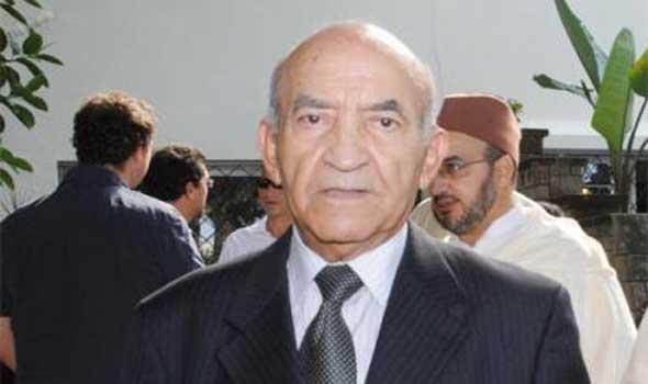 عبد الرحمان اليوسفي في الجديدة لحضور حفل تكريم الدكتور مصطفى الكثيري...
