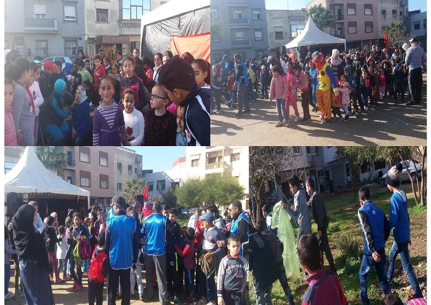 جمعيات من حي السلام بالجديدة  تخلد ذكرى 11 يناير
