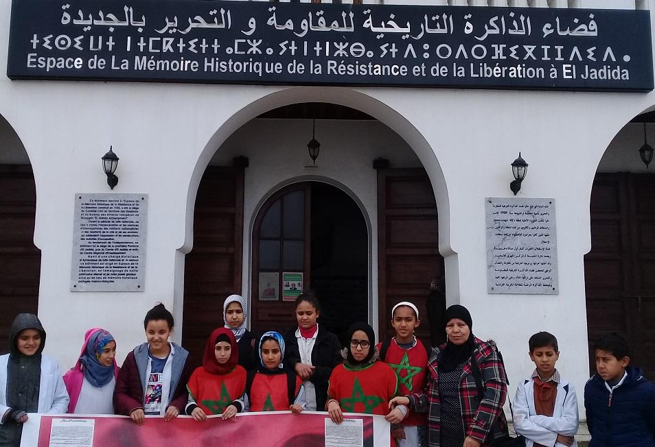 نادي المواطنة بإعدادية للامريم يزرع بذور المواطنة في قلوب الناشئة