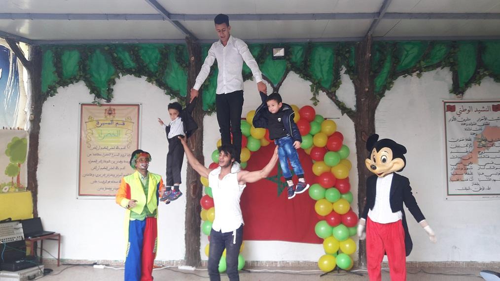 مجموعة مدارس الشجيرات بالجديدة تحتفل بنهاية الأسدوس الأول من السنة الدراسية