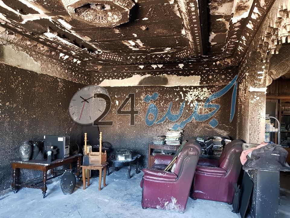 النيران تلتهم بالجديدة منزلا لقاضي بمحكمة النقض ل5 مرات في أقل من شهر وفرضية ''أعمال السحر والجن'' واردة