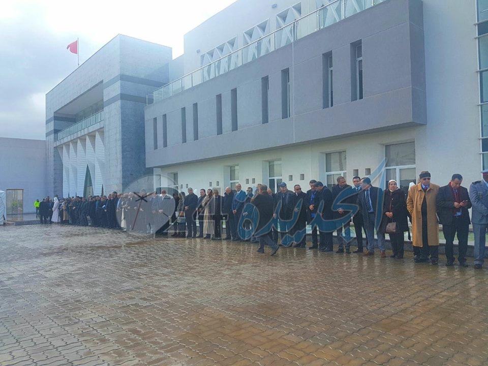 بالصور.. تدشين المقر الجديد لعمالة سيدي بنور بحضور والي الجهة وعامل الجديدة