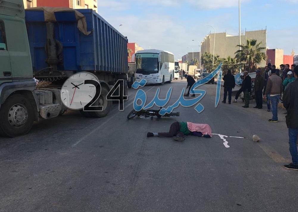 وفاة مساعد تقني بالمقاطعة الحضرية الرابعة في حادثة سير بوسط الجديدة