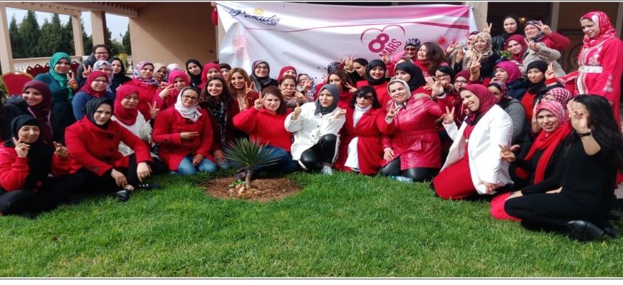 مدرسة جنينة الاطفال الخاصة بالجديدة تحتفي بنسائها وتكرم مديرة مجموعة الحوزية