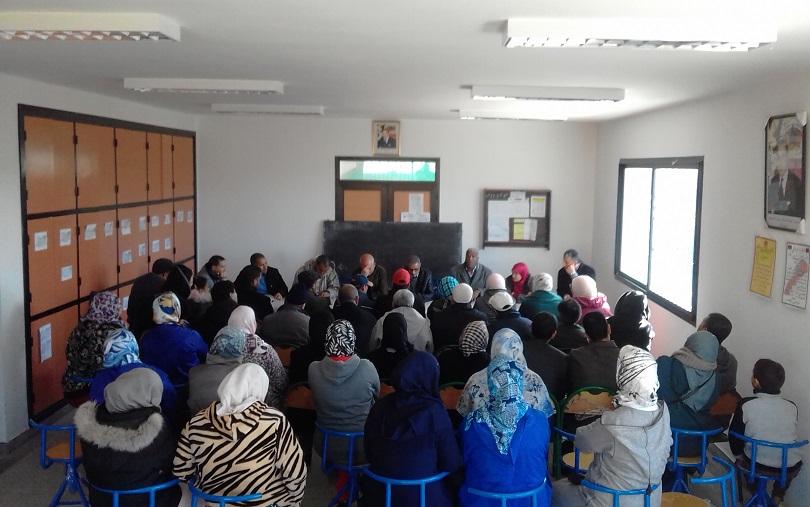 جمعية آباء تلاميذ ثانوية النجد بالجديدة تنظم لقاء تواصليا وتخرج بمجموعة من التوصيات