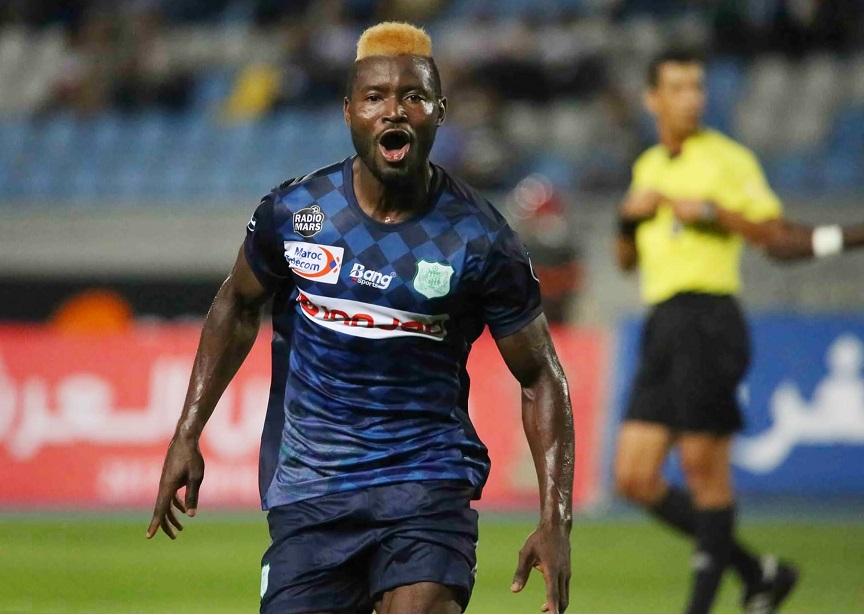 استدعاء لاعب الدفاع الجديدي فابريس نغاه للمشاركة مع المنتخب الكاميروني الاول
