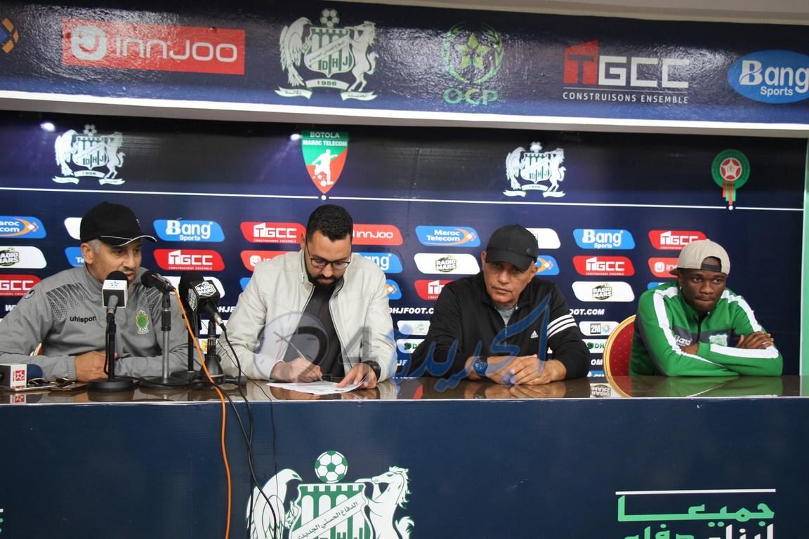 عبد الرحيم طاليب: بعض المحسوبين على الجمهور الجديدي يأتون إلى الملعب لسب اللاعبين والمدرب