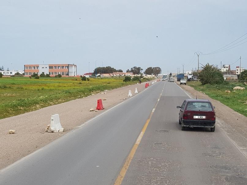 قريبا.. استئناف الأشغال في مشروع توسعة الطريق الرابطة بين الجديدة والجرف الاصفر