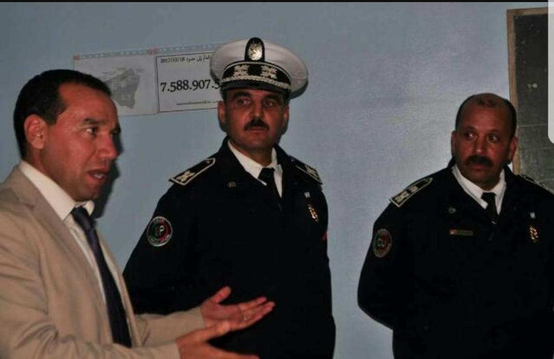 الأمن ينظم حملة للتوعية بالسلامة الطرقية بثانوية عقبة بن نافع بالبئر الجديد