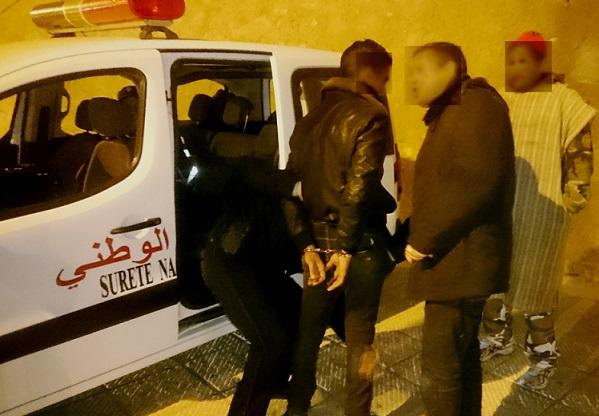 الشرطة القضائية بأزمور تشل نشاط مجرمين روعوا المواطنين