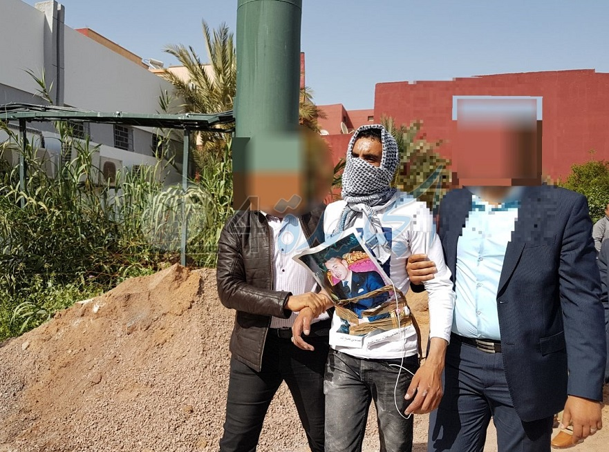 لبطء البث في قضيته بابتدائية سيدي بنور.. حاول مواطن الانتحار + صور