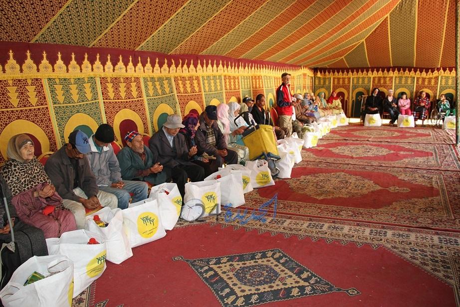 عامل الجديدة يشرف على عملية توزيع الدعم الغذائي ''رمضان 1439'' لفائدة 5590 شخصا
