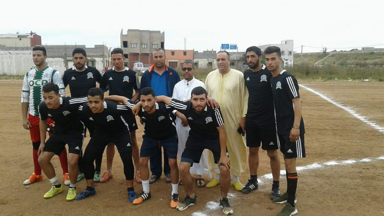 افتتاح الدوري الرمضاني لكرة القدم  بدوار التكني