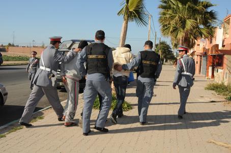 درك أولاد غانم يفك لغز سرقة سائحين ألمانيين على شاطئ بإقليم الجديدة