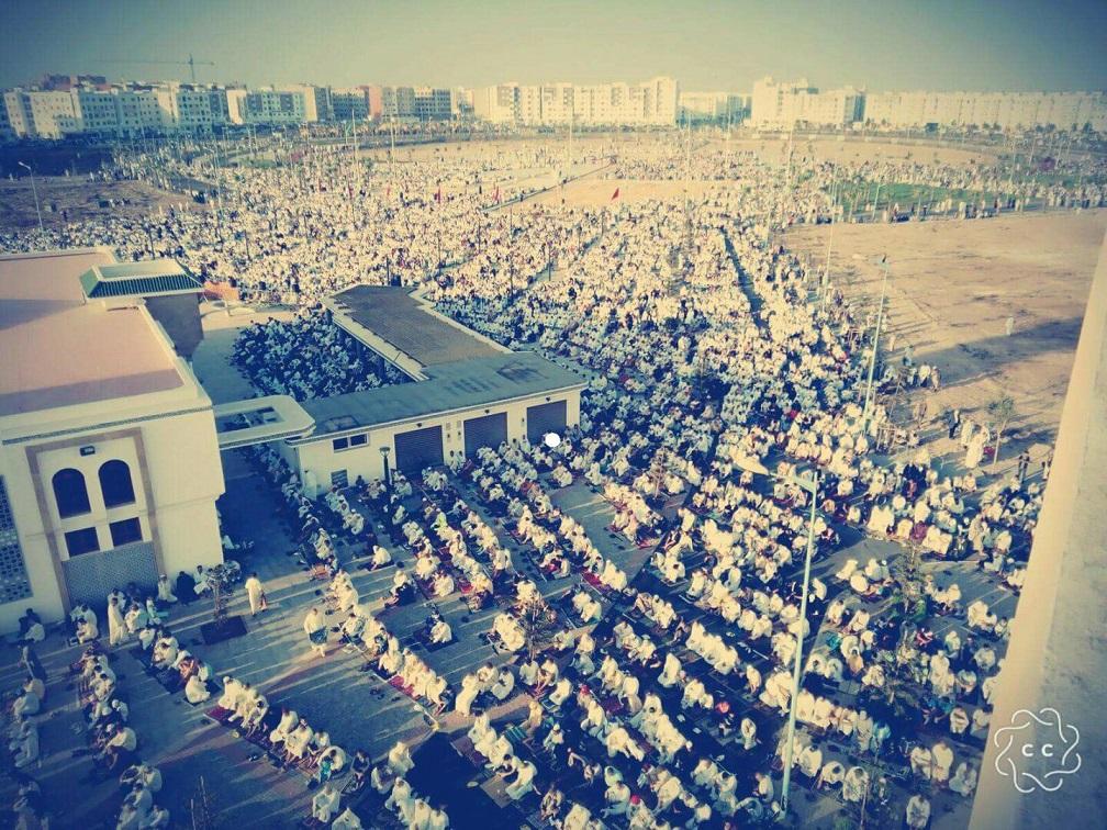 رسميا.. اقامة صلاة العيد في الساحة الكبرى لحي المطار ومسجدين آخرين بالجديدة