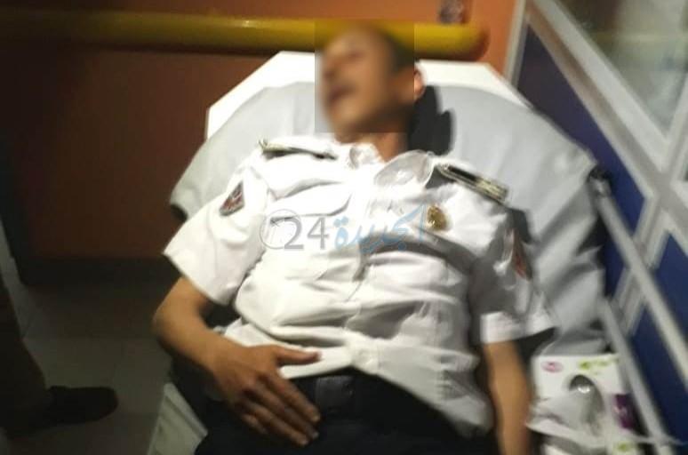 من محبس الشرطة بالجديدة.. مجرم يرسل ب'الضربة القاضية'' ضابط أمن إلى قسم المستعجلات!