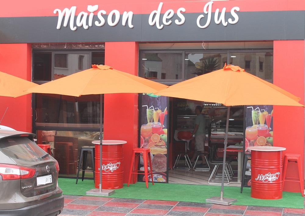 بالصور.. افتتاح La Maison des Jus المتخصصة في بيع كل أنواع العصير  بالجديدة