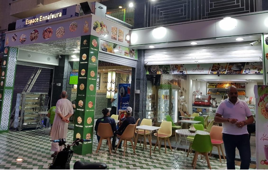 ''فضاء النافورة''.. مطعم فاخر بطابع مغربي أصيل يفتح أبوابه بحي المطار بالجديدة