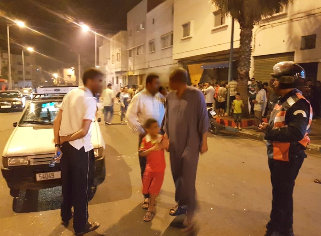 مواطنون بالجديدة يسلمون للشرطة ''مقرقب'' حطم سيارات في الشارع العام