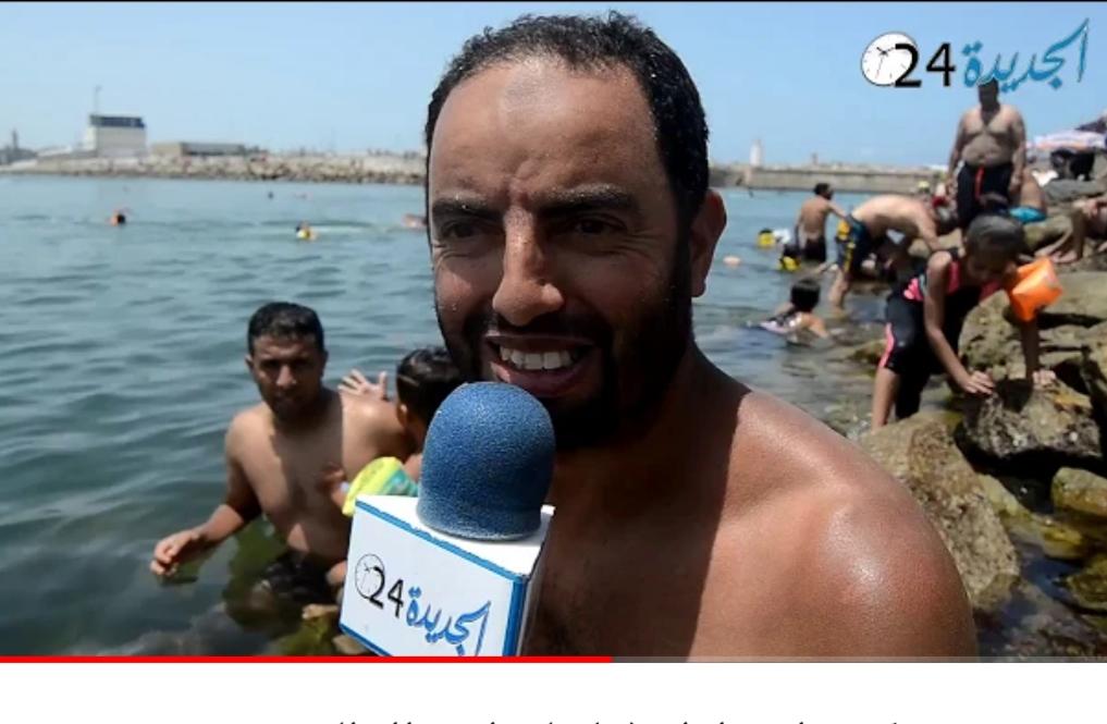 ميكرو طروطوار : لماذا يفضل أبناء مدينة الجديدة السباحة في ''المون'' ؟