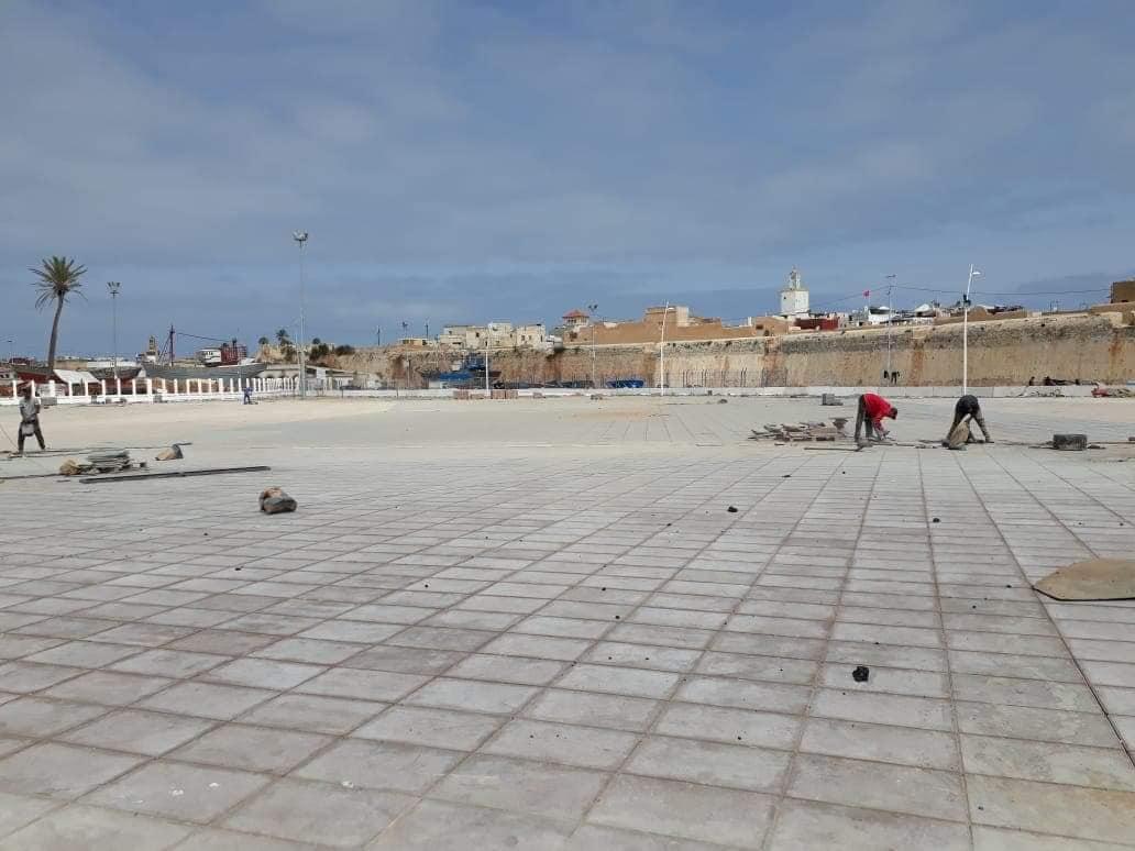 ساحة البريجة.. اولى مشاريع المجلس السابق المتوقفة تفتتح قريبا في وجه ساكنة الجديدة