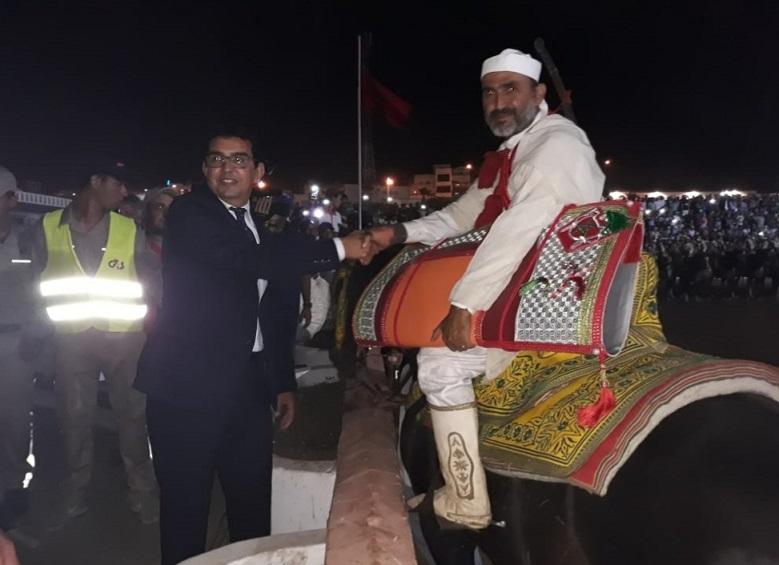 اختتام فعاليات موسم مولاي عبد الله أمغار بتتويج الفائزين بجائزة التبوريدة