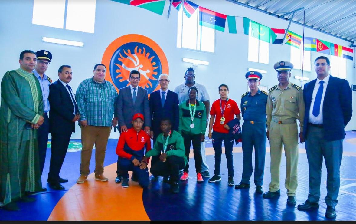 وزير الشباب والرياضة يزور المركز الدولي للمصارعة بالجديدة ويشرف على مجموعة من الانشطة
