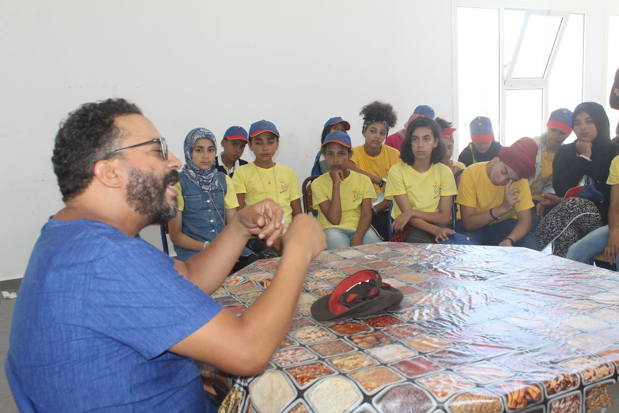 ''احديدان'' في رحاب مخيم رواد بالحوزية