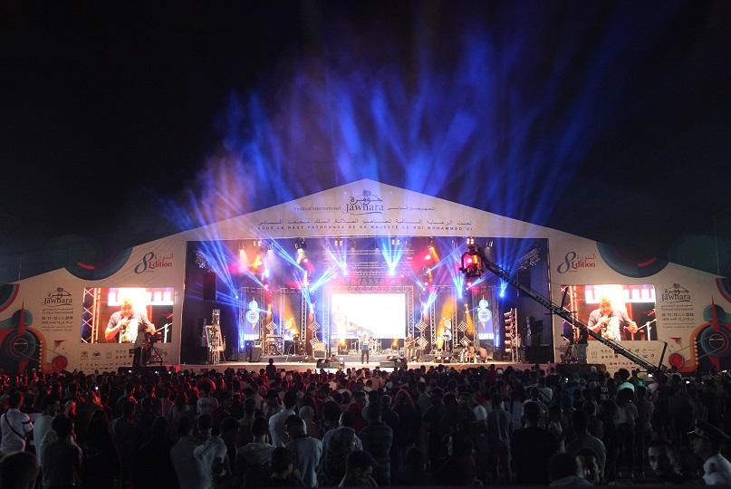 منظمو مهرجان جوهرة : 760  ألف تابعوا فعاليات الدورة الثامنة بمدن الجديدة وازمور والبير الجديد