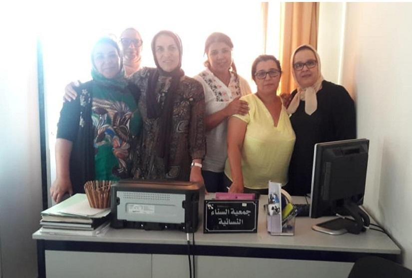 تجديد المكتب المسير لجمعية السناء النسائية بالجديدة