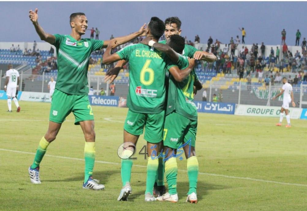 الدفاع الحسني الجديدي يحقق فوزا صعبا على حساب أولمبيك خريبكة في البطولة