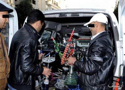 الدرك يداهم مقهى بمحطة للوقود بطريق الجرف الأصفر متخصصة في تقديم ''الشيشا''