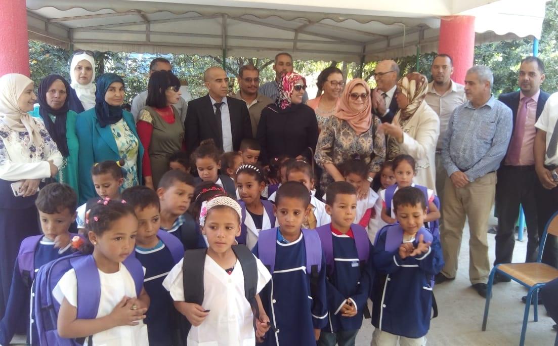 المدير الاقليمي يشرف على انطلاق الموسم السادس للتعليم الاولي بمجموعة مدارس الحوزية