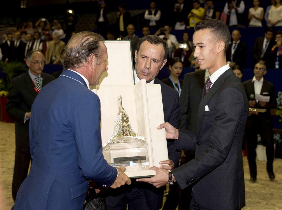 الأمير مولاي الحسن يترأس بالجديدة حفل تسليم الجائزة الكبرى محمد السادس للقفز على الحواجز
