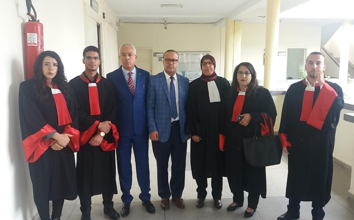 وكيل الملك بابتدائية سيدي بنور يترأس حفل أداء المفوضين  القضائيين الجدد اليمين القانونية