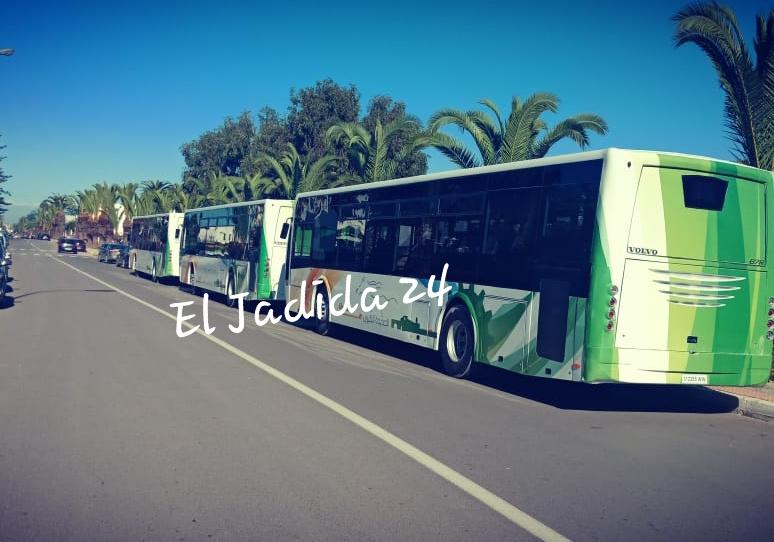 أسطول النقل الحضري بمدينة الجديدة يتعزز بحافلات جديدة صديقة للبيئة