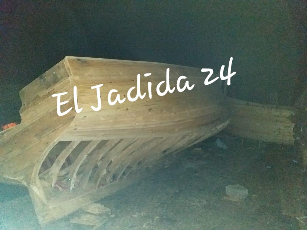 السلطات بالجديدة تكتشف ورشا سريا لصناعة ''قوارب الموت''