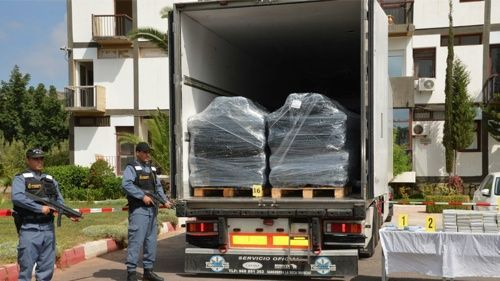 تدخل أمني– دركي يحبط تهريب 10 أطنان من المخدرات عبر سواحل الجديدة