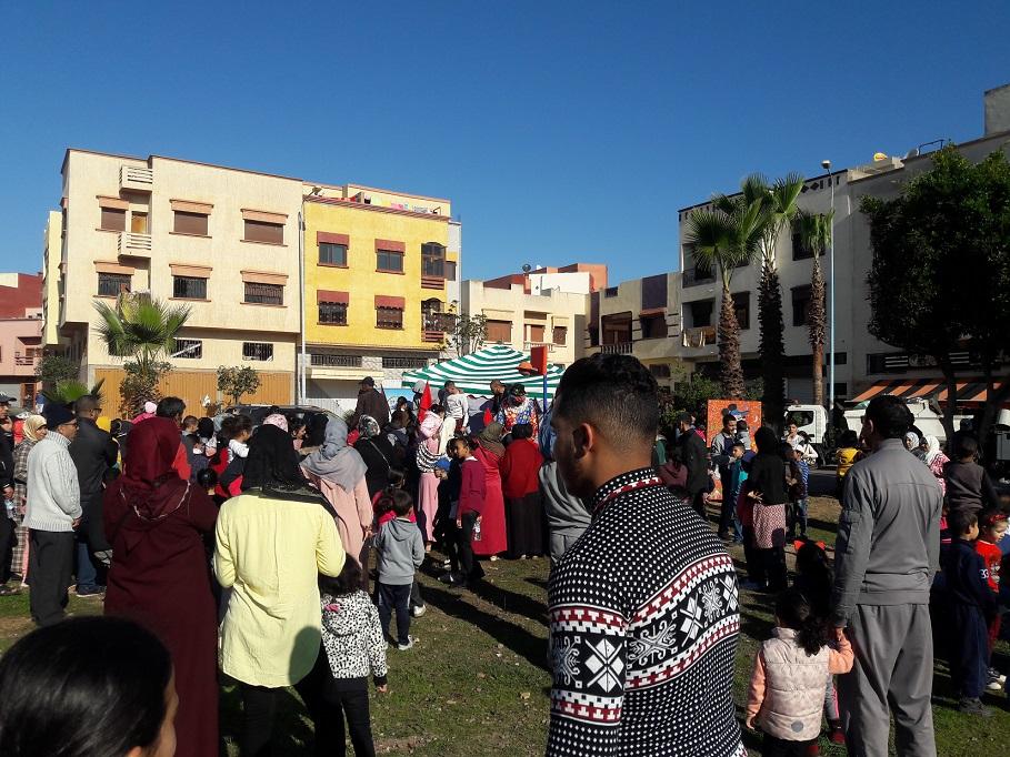 جمعية النجد بالجديدة تنظم صبيحة للأطفال بحديقة الحي