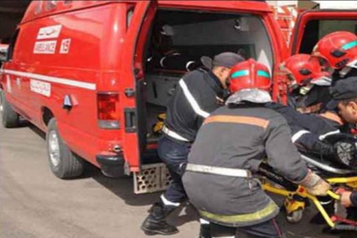وفاة مستخدم واصابة آخر في حادثة شغل داخل تجزئة سكنية بسيدي علي بن حمدوش بازمور