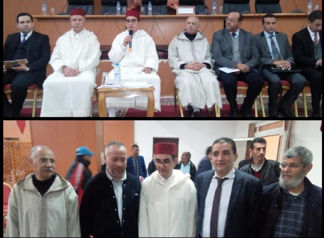 عامل الجديدة ينظم لقاء تواصليا مع الجمعيات الرياضية بالإقليم ويجري لقاء صلح بين المقتريض والتومي
