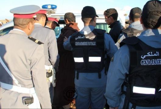 الجديدة: الدرك الملكي يعتقل مجرما خطيرا روع مدينة أزمور