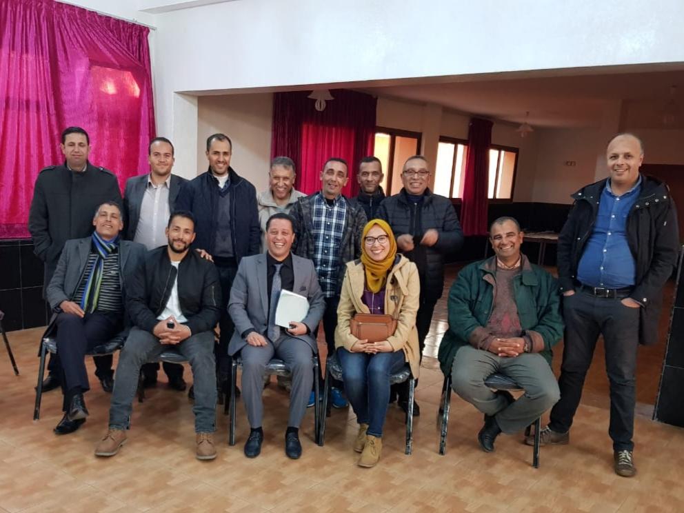 جمعية كتاب المفوضين القضائيين بالجديدة تنظم لقاء تواصليا