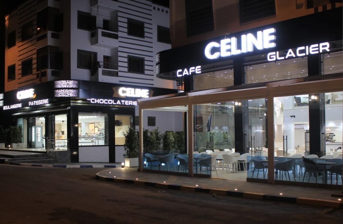 الاعلان عن افتتاح مقهى ومخبزة CÉLINE بتجزئة كريمة في حي السلام بالجديدة